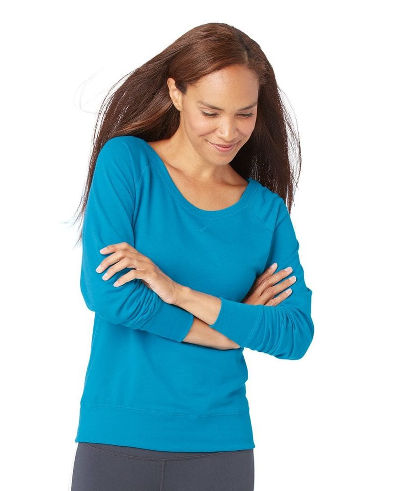 LAT 3762 - Ladies' French Terry Slouchy Pullover