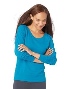 LAT 3762 - Ladies French Terry Slouchy Pullover