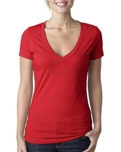 Next Level 6640 - Ladies CVC Deep V