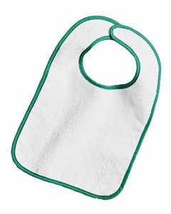 Rabbit Skins 1003 - Infant Terry Snap Bib w/ Contrast Color Binding