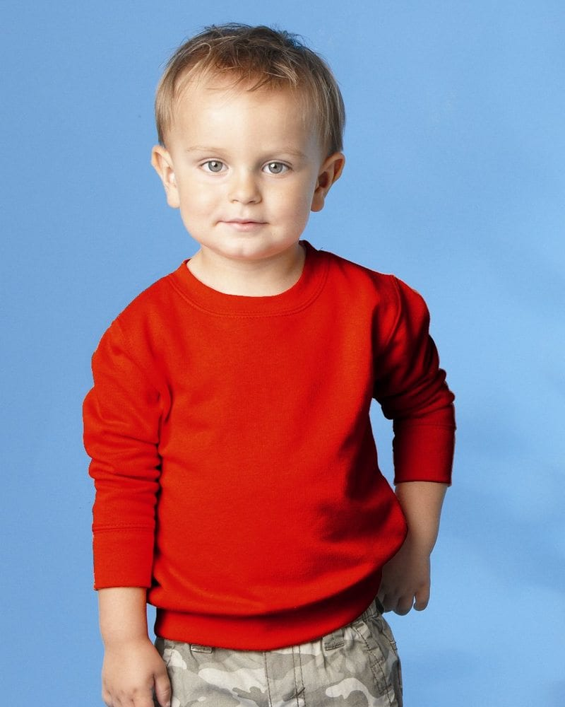 Rabbit Skins 3317 - Toddler/Juvy Crewneck Sweatshirt