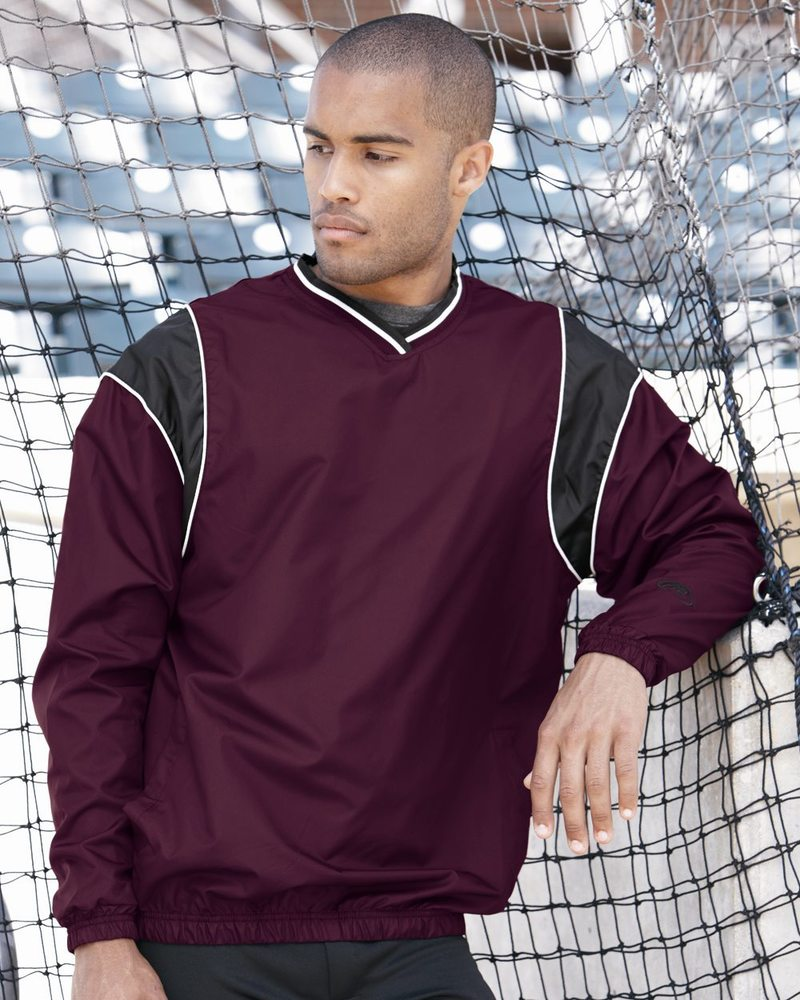 Rawlings 9700 - V-Neck Micro Poly Windshirt