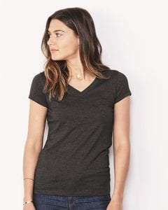 Bella+Canvas 6005 - Ladies Short Sleeve V-Neck Jersey T-Shirt