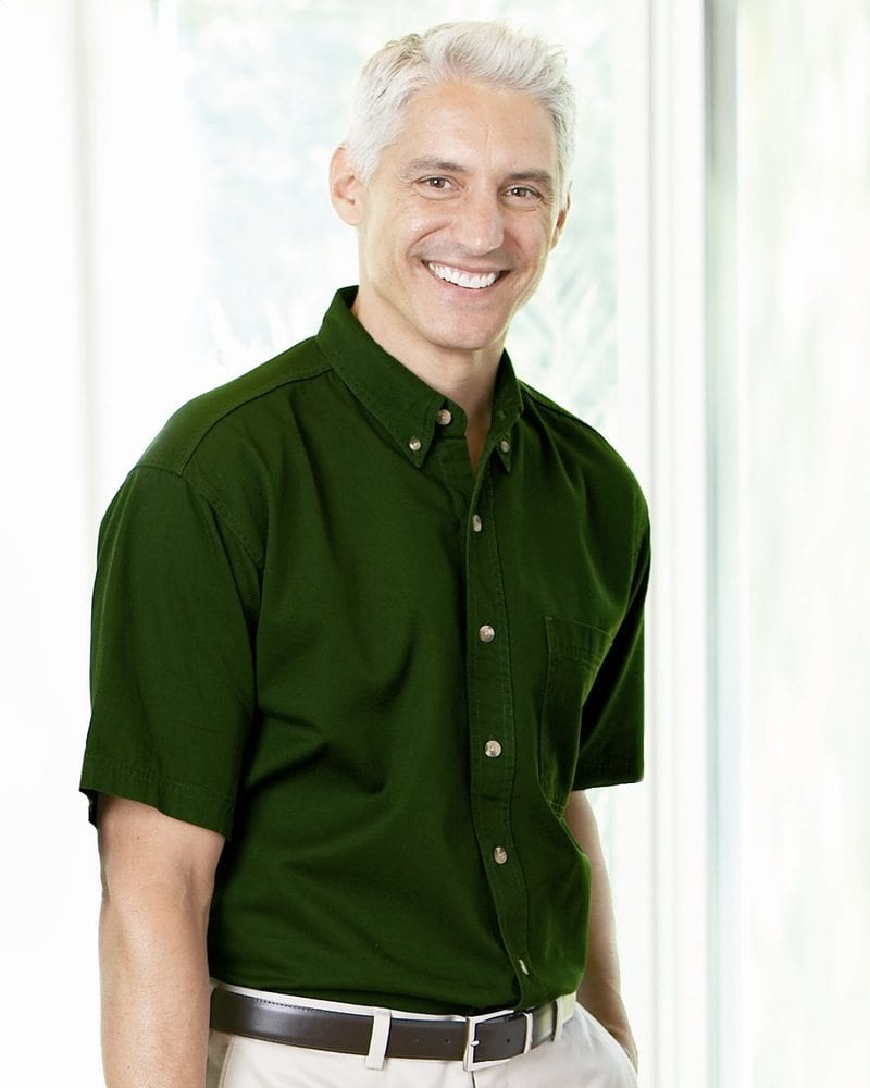 Sierra Pacific 0201 - Short Sleeve Cotton Twill Shirt