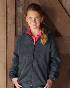 Sierra Pacific 4061 - Youth Fleece Full-Zip Jacket