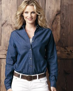 Sierra Pacific 5211 - Ladies Long Sleeve Denim