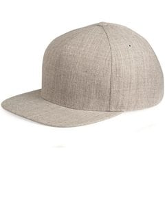 Yupoong 5089M - Five Panel Wool Blend Snapback Cap