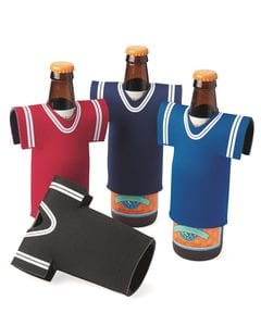 Liberty Bags FT008 - Collapsible Jersey Foam Can & Bottle Holder
