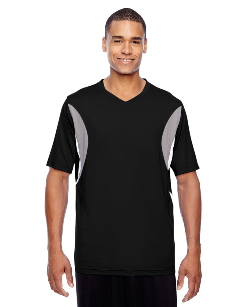 Team 365 TT10 - Men's Short-Sleeve Athletic V-Neck All Sport Jersey