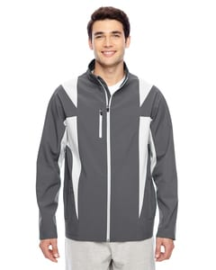 Team 365 TT82 - Mens Icon Colorblock Soft Shell Jacket