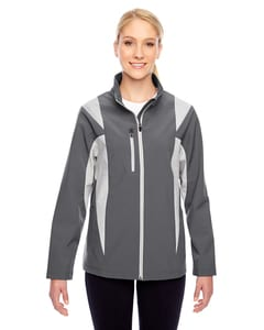 Team 365 TT82W - Ladies Icon Colorblock Soft Shell Jacket