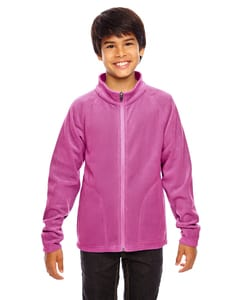 Team 365 TT90Y - Youth Campus Microfleece Jacket
