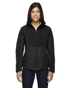 Ash City North End 78679 - Ladies Innovate Insulated Hybrid Soft Shell Jacket