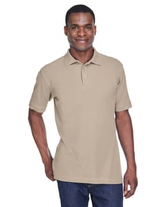 Harriton M280 - Mens 5 oz. Blend-Tek™ Polo
