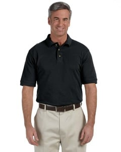 Harriton M200T - Tall 6 oz. Ringspun Cotton Piqué Short-Sleeve Polo