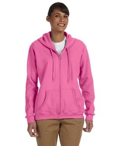 Gildan G186FL - Heavy Blend Ladies 13.3 oz., 50/50 Full-Zip Hood