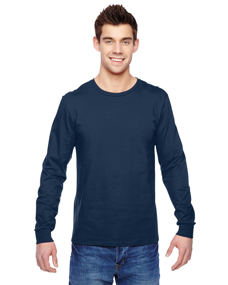 Fruit of the Loom SFLR - 4.7 oz., 100% Sofspun Cotton Jersey Long-Sleeve T-Shirt