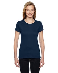 Fruit of the Loom SSFJR - Ladies 4.7 oz., 100% Sofspun Cotton Jersey Junior Crew T-Shirt