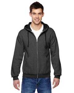Fruit of the Loom SF73R - 12 oz. Sofspun Full-Zip Hooded Sweatshirt