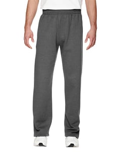 Fruit of the Loom SF74R - 12 oz. Sofspun Open-Bottom Pocket Sweatpants