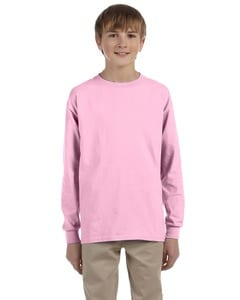 Gildan G240B - Ultra Cotton® Youth 6 oz. Long-Sleeve T-Shirt