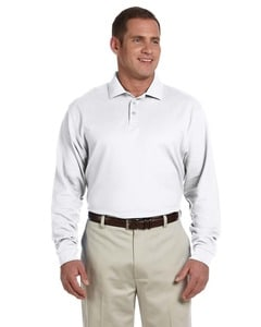 Devon & Jones D110 - Mens Pima Piqué Long-Sleeve Polo