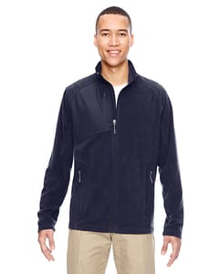 Ash City North End 88215 - Mens Excursion Trail Fabric-Block Fleece Jacket