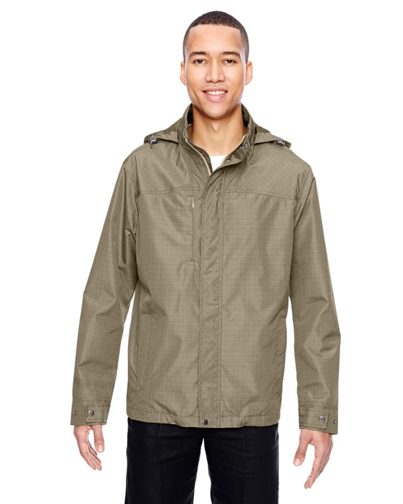 Ash City North End 88216 - Men's Excursion Transcon Lightweight Jacket with Pattern