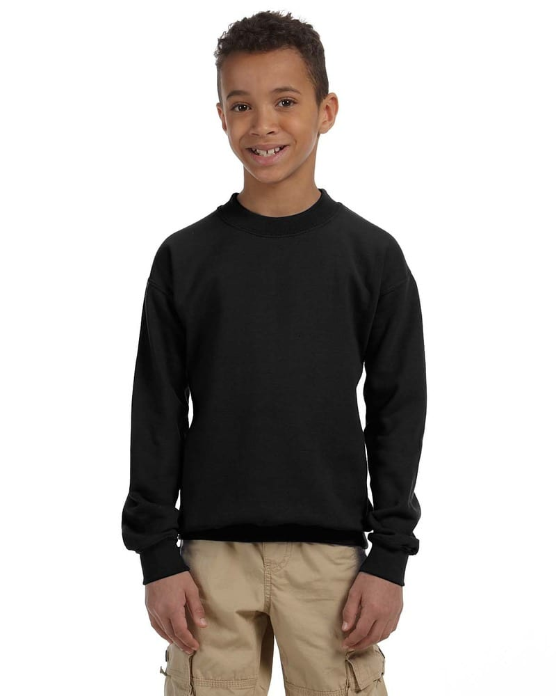 Gildan G180B - Heavy Blend Youth 8 oz., 50/50 Fleece Crew