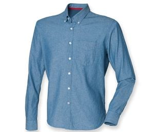 Front Row FR501 - Classic Chambray Shirt-Chemise Chambray