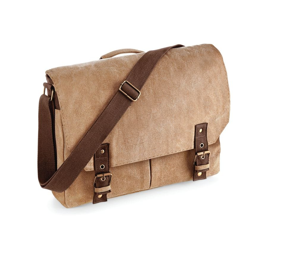 Quadra QD625 - Vintage Canvas Satchel Messenger