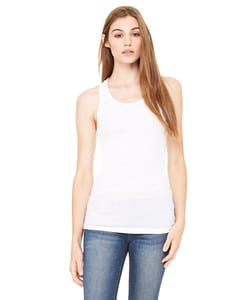 Bella+Canvas 8770 - Ladies Sheer Mini Rib Racerback Tank