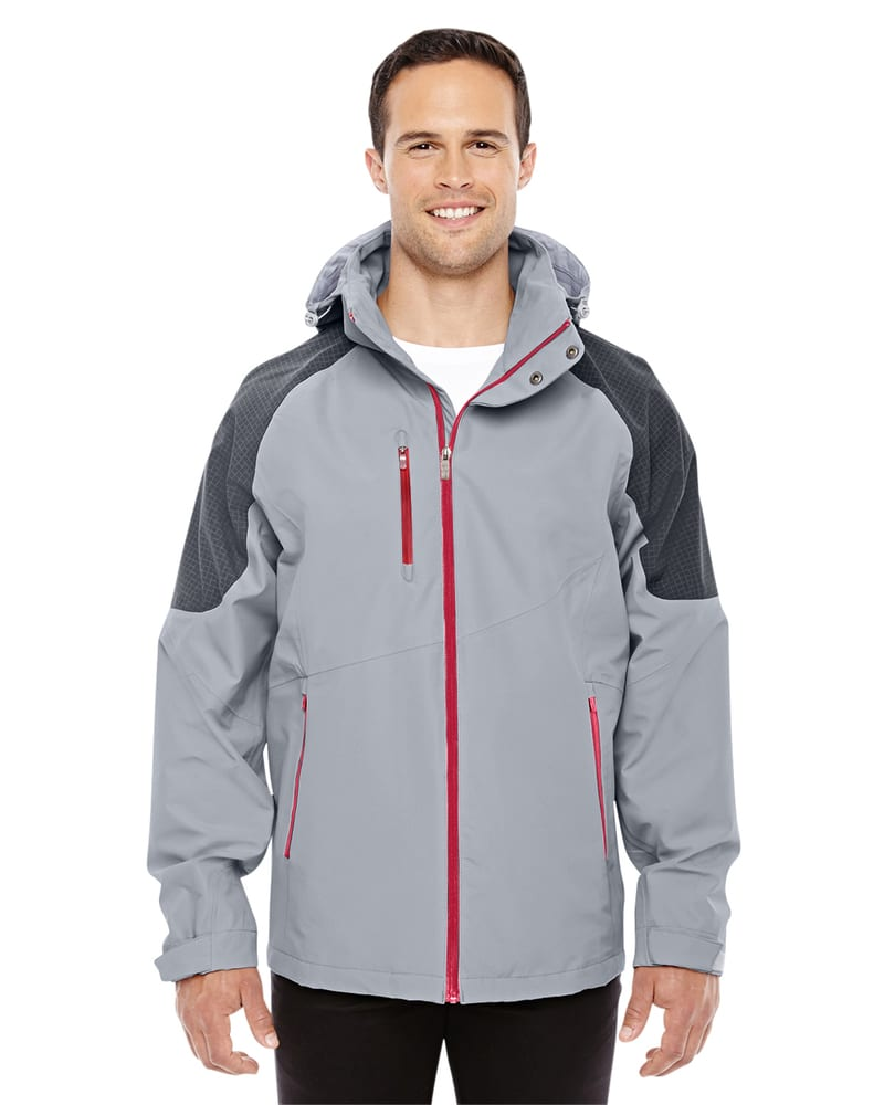 Ash City North End Sport Red 88808 - Men's Impulse Interactive Seam-Sealed Shell Jacket