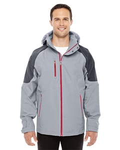 Ash City North End Sport Red 88808 - Mens Impulse Interactive Seam-Sealed Shell Jacket