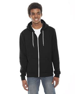 American Apparel F497 Flex Fleece Zip Hoodie