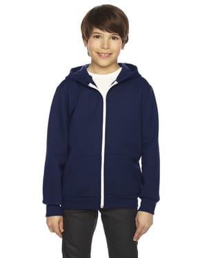 American Apparel F297 - Youth Flex Fleece Zip Hoodie