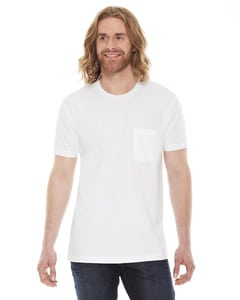 American Apparel 2406 - Unisex Fine Jersey Pocket Short-Sleeve T-Shirt