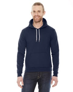 F498 American Apparel Flex Fleece Drop Shoulder Pull Over Hoodie