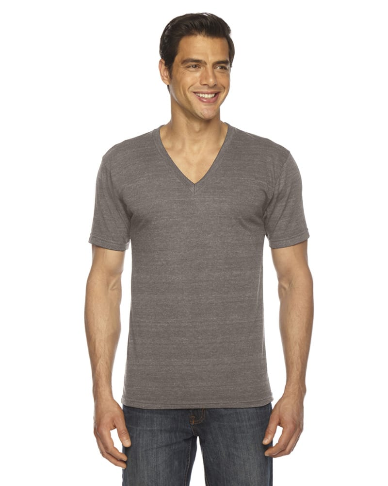 6f0faacb7716 American Apparel TR461 - Unisex Triblend Short-Sleeve V-Neck T-shirt