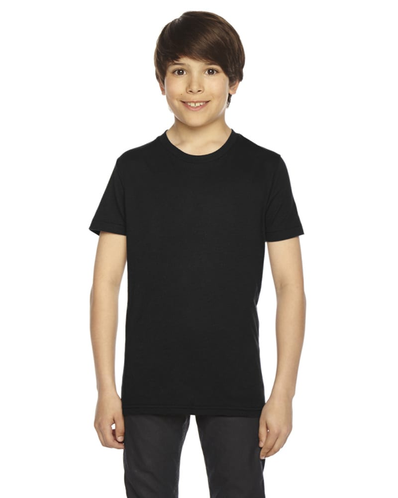 American Apparel BB201 - Youth Poly-Cotton Short-Sleeve Crewneck