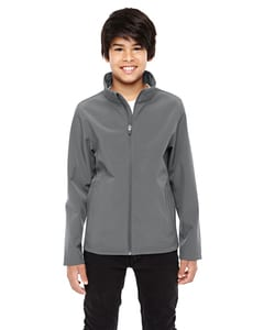 Team 365 TT80Y - Youth Leader Soft Shell Jacket