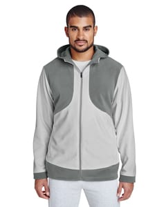 Team 365 TT94 - Mens Rally Colorblock Microfleece Jacket