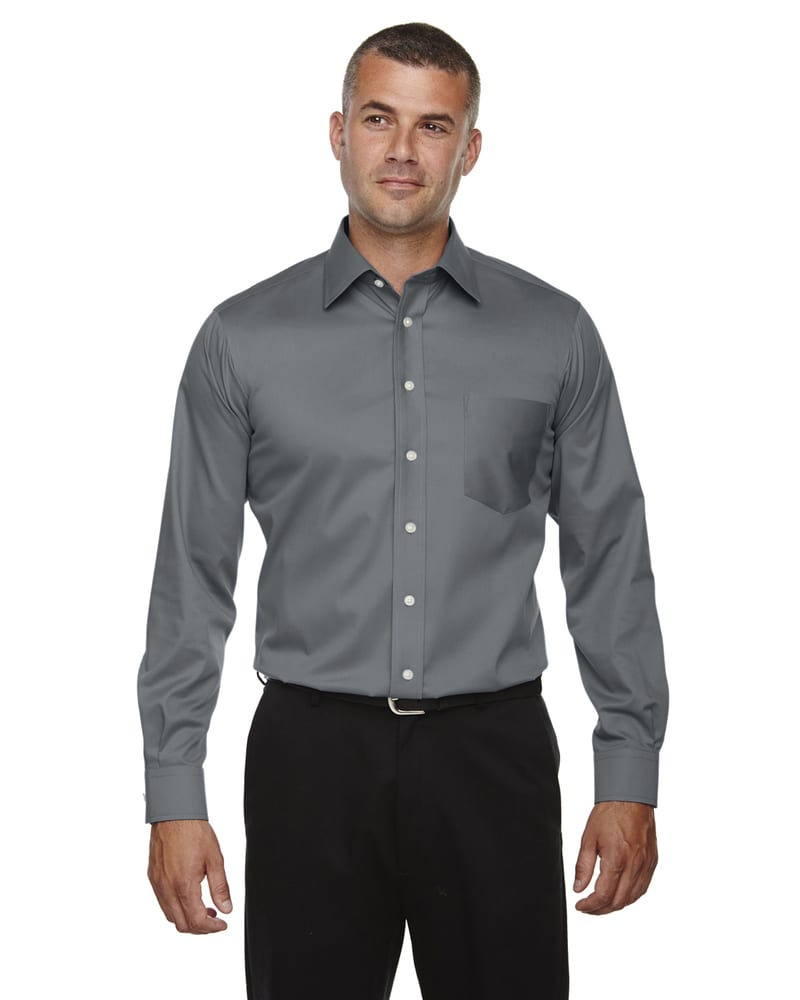 Devon & Jones DG530T - Men's Tall Crown Collection™ Solid Long-Sleeve Stretch Twill