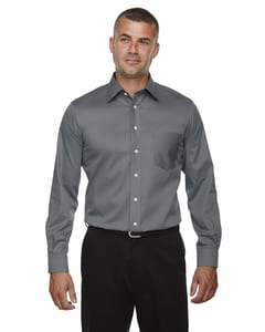 Devon & Jones DG530T - Mens Tall Crown Collection™ Solid Long-Sleeve Stretch Twill