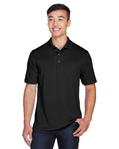 Harriton M345 - Mens Advantage IL Snap Placket Performance Polo