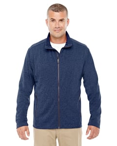 Devon & Jones D885 - Mens Fairfield Herringbone Full-Zip Jacket