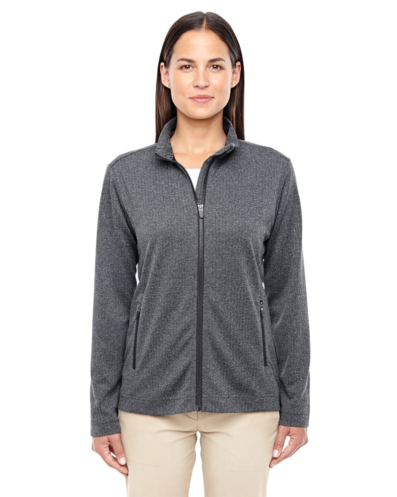 Devon & Jones D885W - Ladies Fairfield Herringbone Full-Zip Jacket