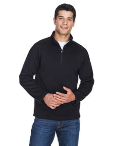 Devon & Jones DG792 - Mens Bristol Sweater Fleece Half-Zip