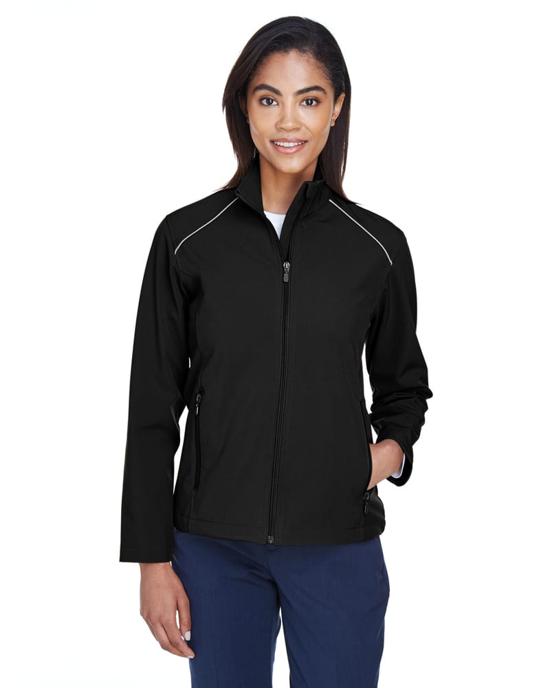 Harriton M780W - Ladies Echo Soft Shell Jacket