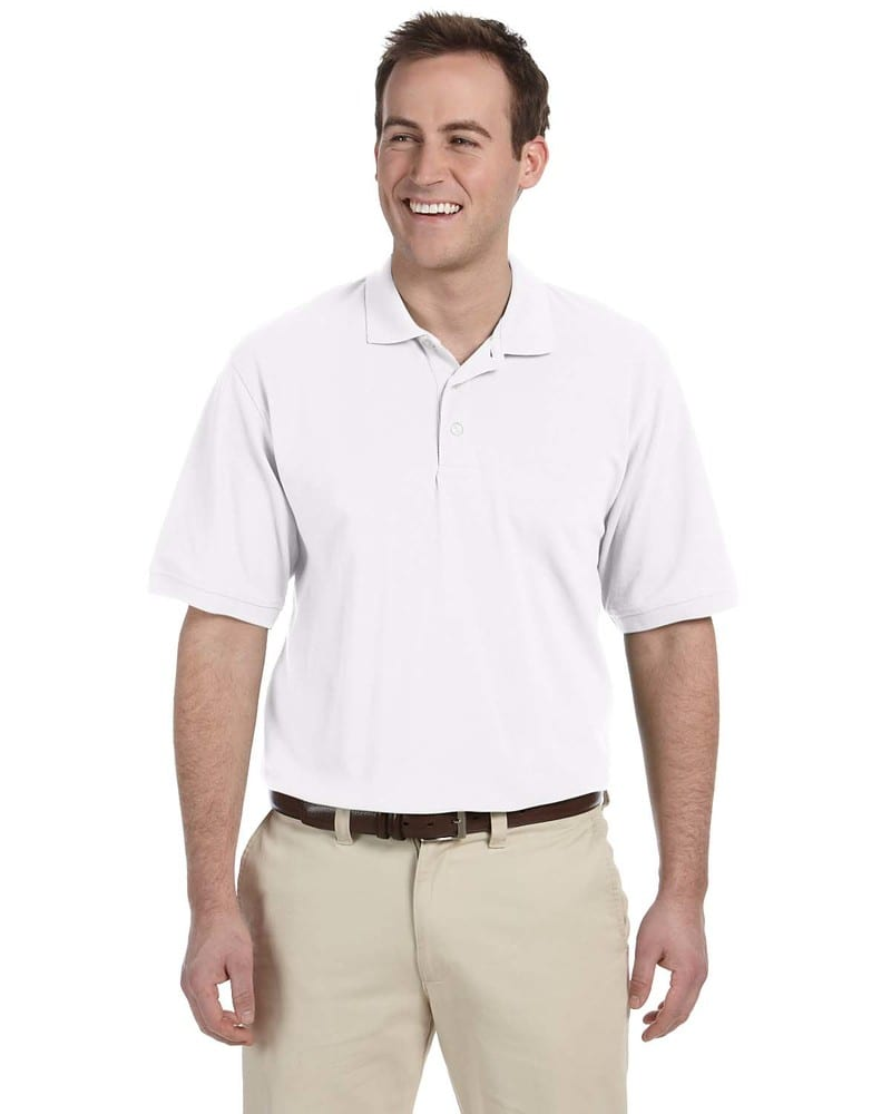 Harriton M265T - Men's Tall Easy Blend Polo